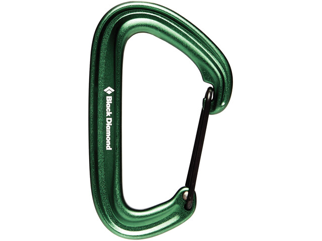 Black Diamond Litewire Mousqueton, green